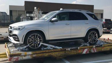 Photo de Le nouveau Mercedes GLE complètement à découvert