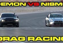Photo de Vidéo : La Nissan GT-R Nismo affronte la Dodge Challenger SRT Demon