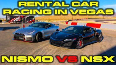 Photo de Vidéo : La Nissan GT-R Nismo affronte la Honda NSX