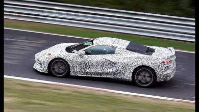 Photo de Vidéo : La Corvette C8 s'échauffe sur la Nordschleife