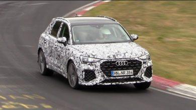 Photo de Le nouveau Audi RS Q3 en pleine attaque sur le Nürburgring