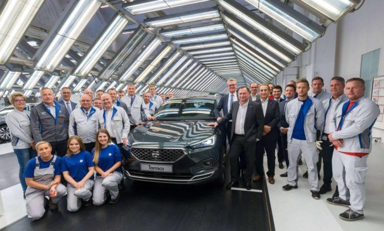 Photo de Début de la production de la SEAT Tarraco à Wolfsburg