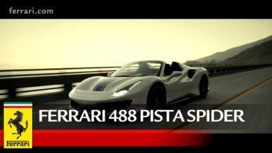 Photo de Salon de Paris : Une nouvelle vidéo pour la Ferrari 488 Pista Spider