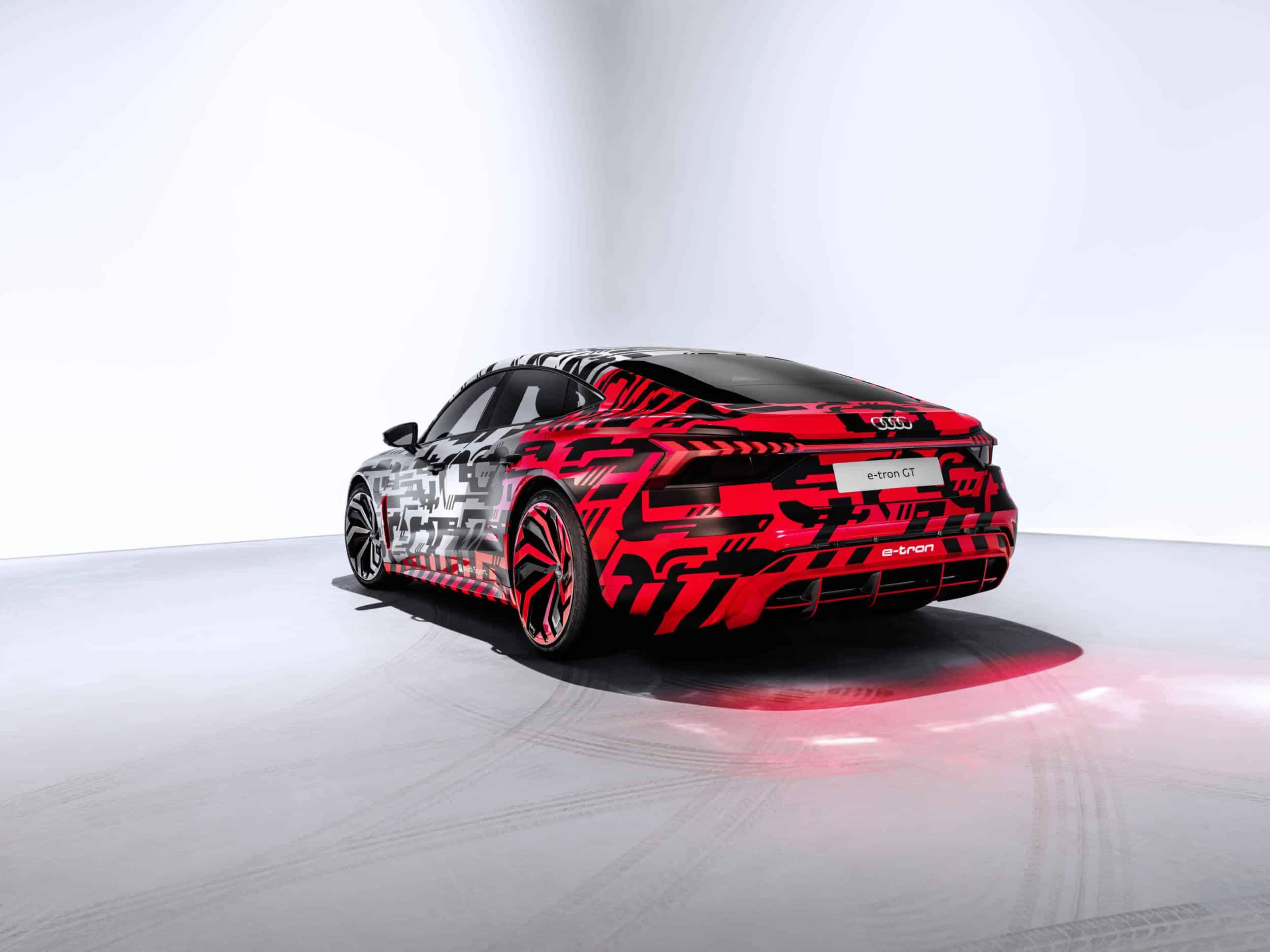 Audi e-tron GT Concept : 1ères photos officielles pour la sportive électrique