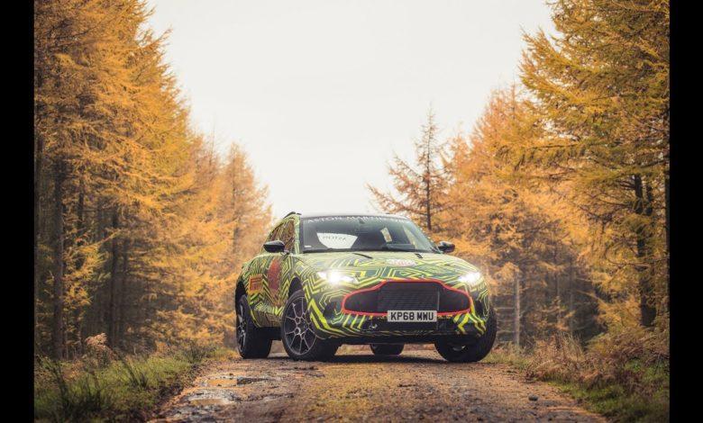 Photo de Aston Martin tease le DBX… son premier SUV