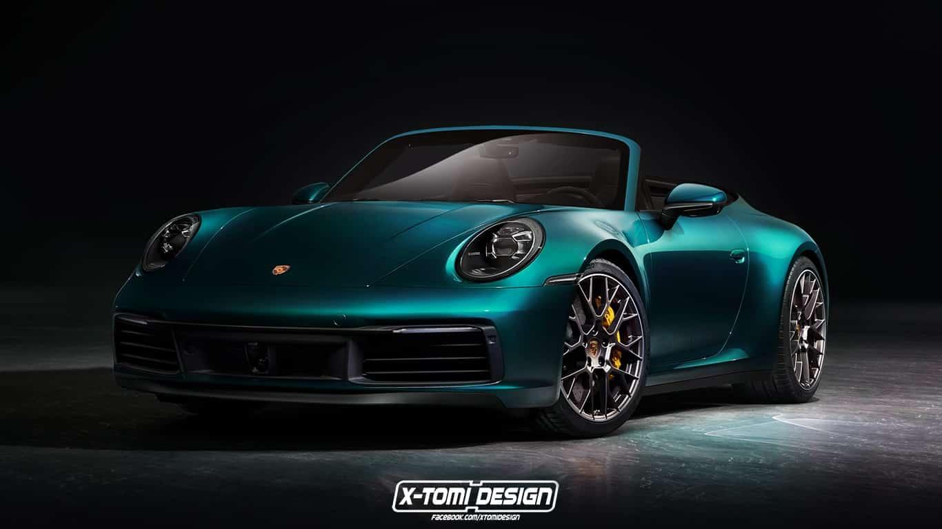 Voici 224 Quoi Ressemblera La Nouvelle Porsche 911 Cabriolet