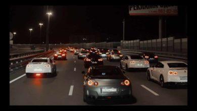 Photo de Vidéo : Quand 40 Nissan GT-R se promènent dans Moscou