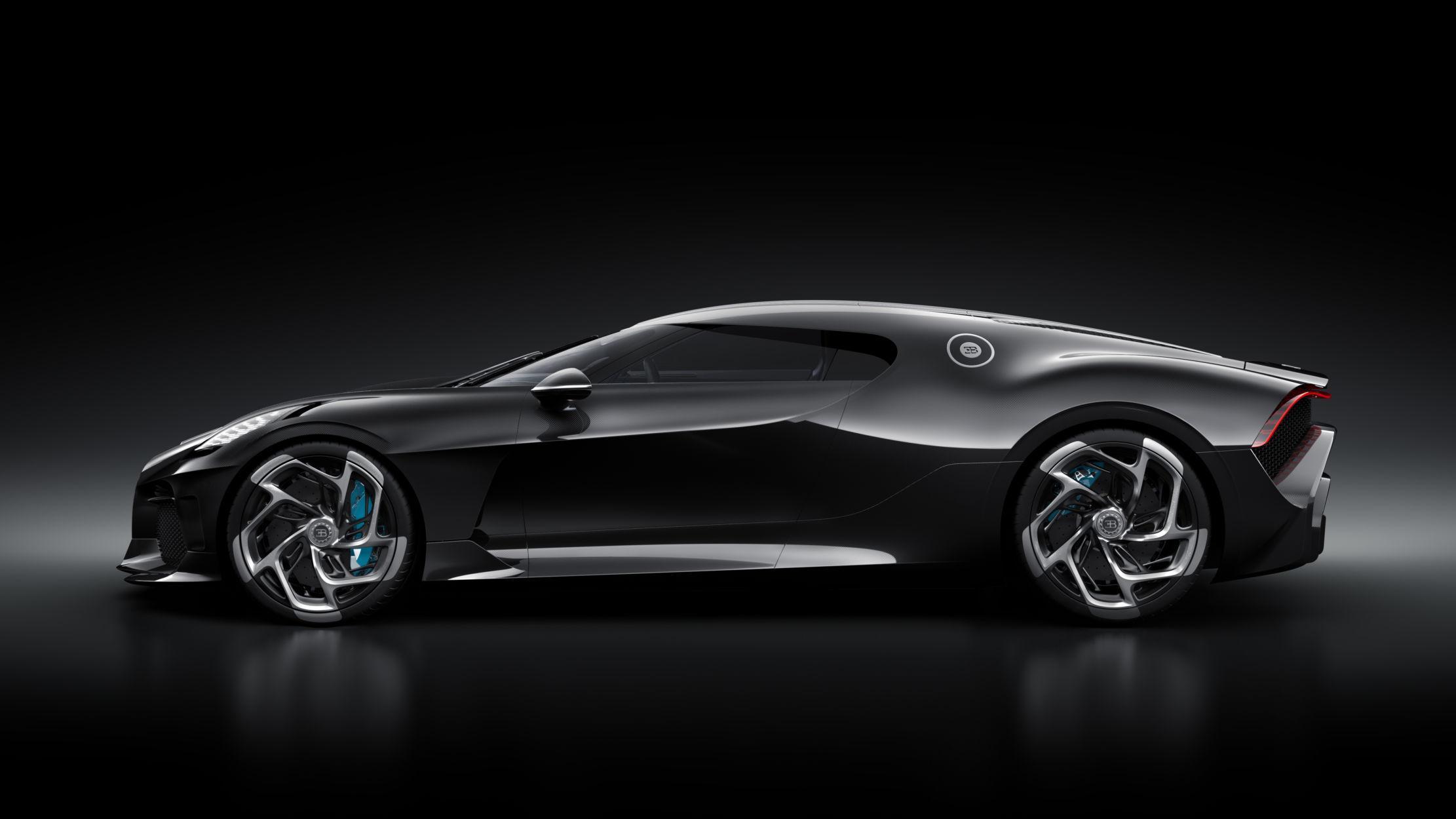 La Voiture Noire Nouveau Mod 232 Le Unique Chez Bugatti