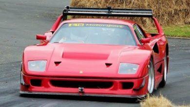 Photo de Vidéo : Il installe un V8 Lexus dans une réplique de Ferrari F40 LM
