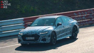 Photo de Vidéo : La nouvelle Audi RS 7 débusquée sur le Nürburgring