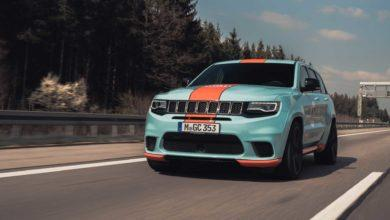 Photo de Geiger Cars pousse le Jeep Grand Cherokee Trackhawk à 900 chevaux