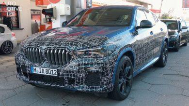 Photo de Le futur BMW X6 M50i surpris sur la Nordschleife