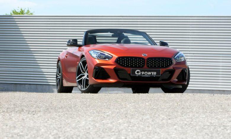 Photo de La BMW Z4 M40i passe entre les mains de G-Power