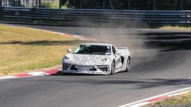 Photo de Vidéo : La Corvette C8 surprise en pleine attaque sur le Nürburgring