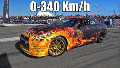 Photo de Vidéo : Une Nissan GT-R de 1600 chevaux atteint les 340 km/h en 15 secondes