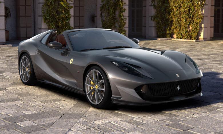 Photo de Ferrari dévoile la 812 GTS
