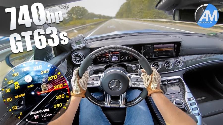 Cette Mercedes-AMG GT 63 S de 740 chevaux accélère aussi fort qu'une Lamborghini Aventador S !