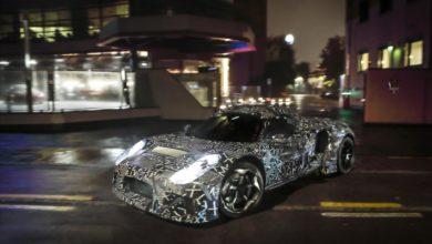 Photo de Maserati publie quelques photos d'un nouveau prototype