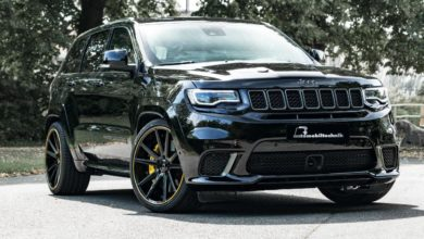 Photo de B&B pousse le Jeep Grand Cherokee SRT Trackhawk à 789 chevaux !