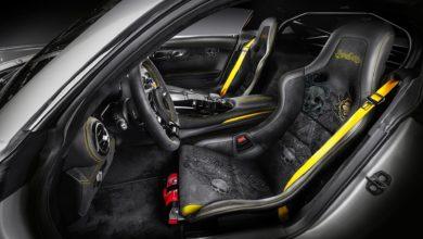 Photo de Carlex Design se défoule sur l'intérieur de cette Mercedes-AMG GT R Pro
