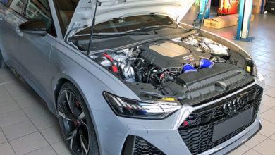 Photo de HGP gonfle le V8 de la nouvelle Audi RS6 à 786 chevaux