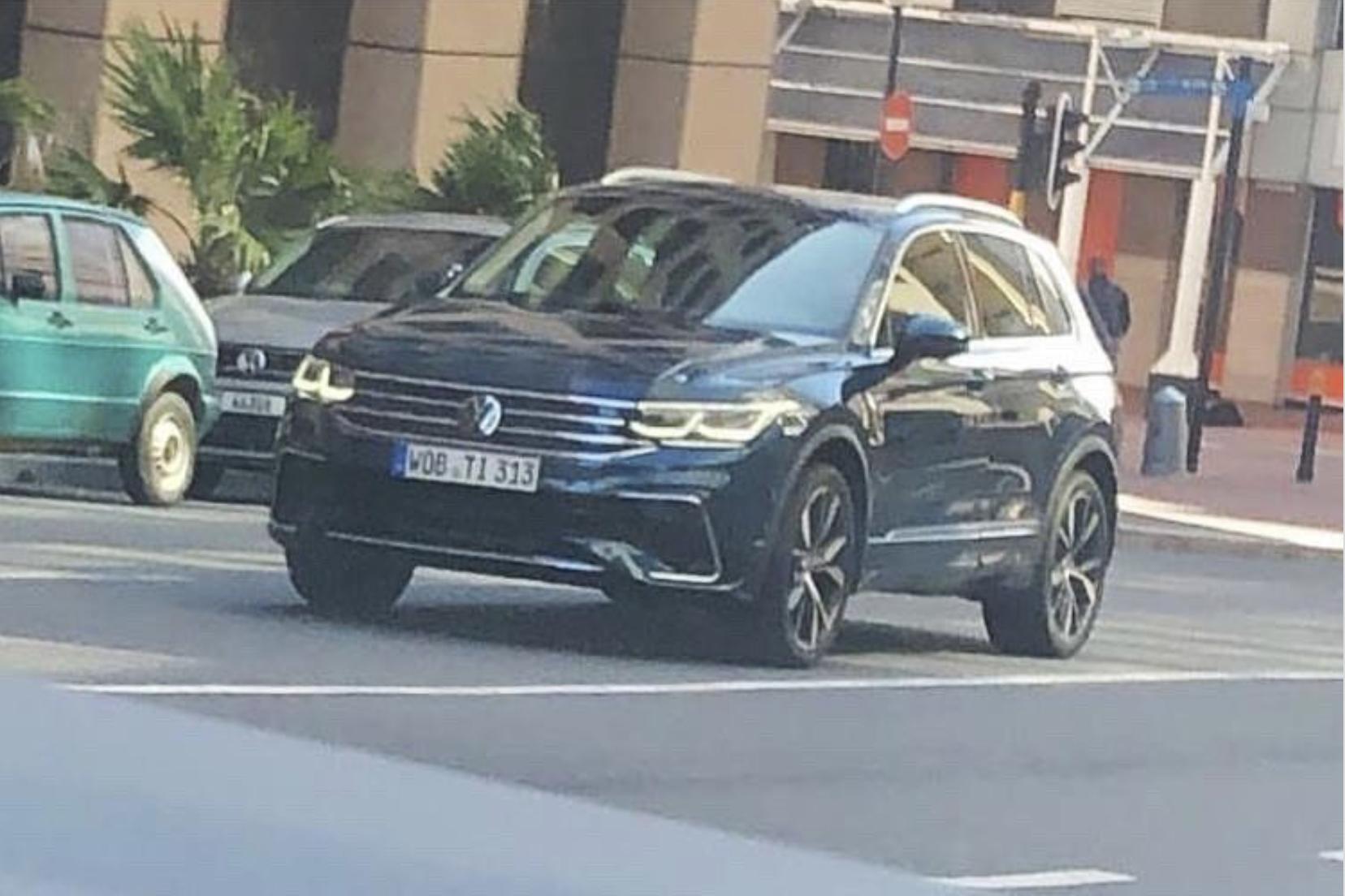 Le Face Lift Du Volkswagen Tiguan Photographie Sans Camouflages Actu Moteurs Com