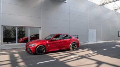 Photo de Alfa Romeo dévoile la redoutable Giulia Quadrifoglio GTA !