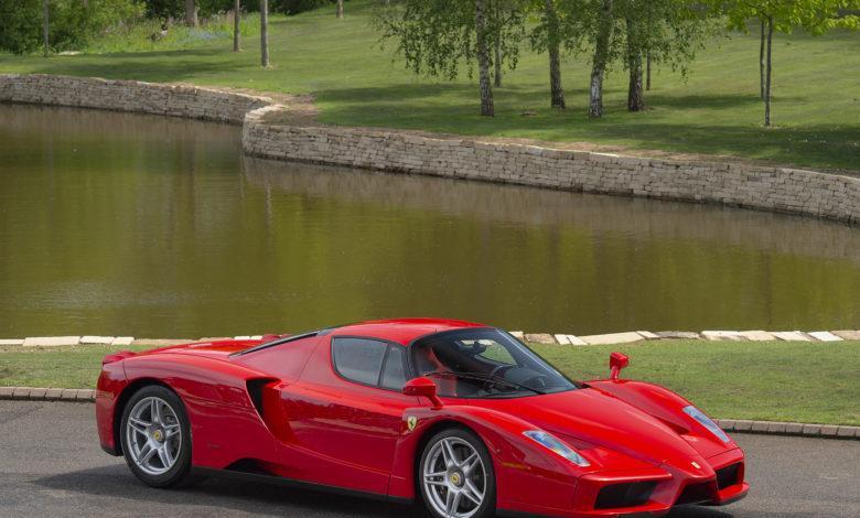 Photo de La deuxième Ferrari Enzo à être sortie de l'usine est à vendre !
