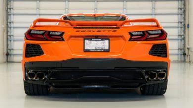 Photo de Hennessey installe deux turbos sur le V8 de la Corvette C8 : Objectif 1200 chevaux