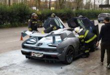 Photo de Une McLaren Senna (à nouveau) détruite par les flammes au Portugal