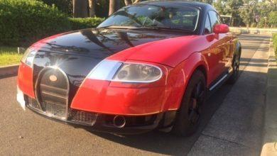Photo de Il a voulu transformer son Audi TT en une Bugatti Veyron…