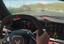 Photo de Vidéo : La Corvette C8 affronte la Porsche 911 GT3 RS sur le circuit de Willow Springs