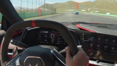 Photo de Vidéo : La Corvette C8 affronte la Porsche 911 GT3 RS sur le circuit de Willow Springs