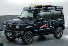 Photo de Japon : Suzuki introduit des décorations «rétro» pour son Jimny