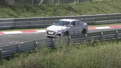 Photo de Vidéo : L'Audi RS3 se fait débusquer sur le Nürburgring