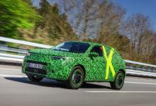 Photo de Le nouvel Opel Mokka rentre dans sa dernière phase de développement