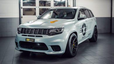 Photo de O.CT gonfle le Jeep Grand Cherokee SRT TrackHawk à 888 chevaux !