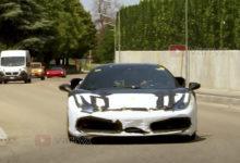 Photo de La future Ferrari hybride V6 à nouveau filmée dans les rues italiennes (vidéo)