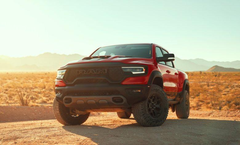 Photo de Ram 1500 TRX : Un V8 6,2l HEMI de 702 chevaux !