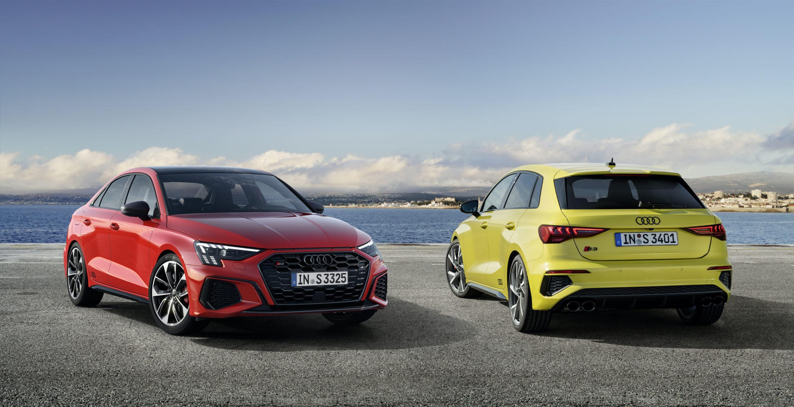 310 chevaux pour les Audi S3 Berline et Sportback !   Actu ...
