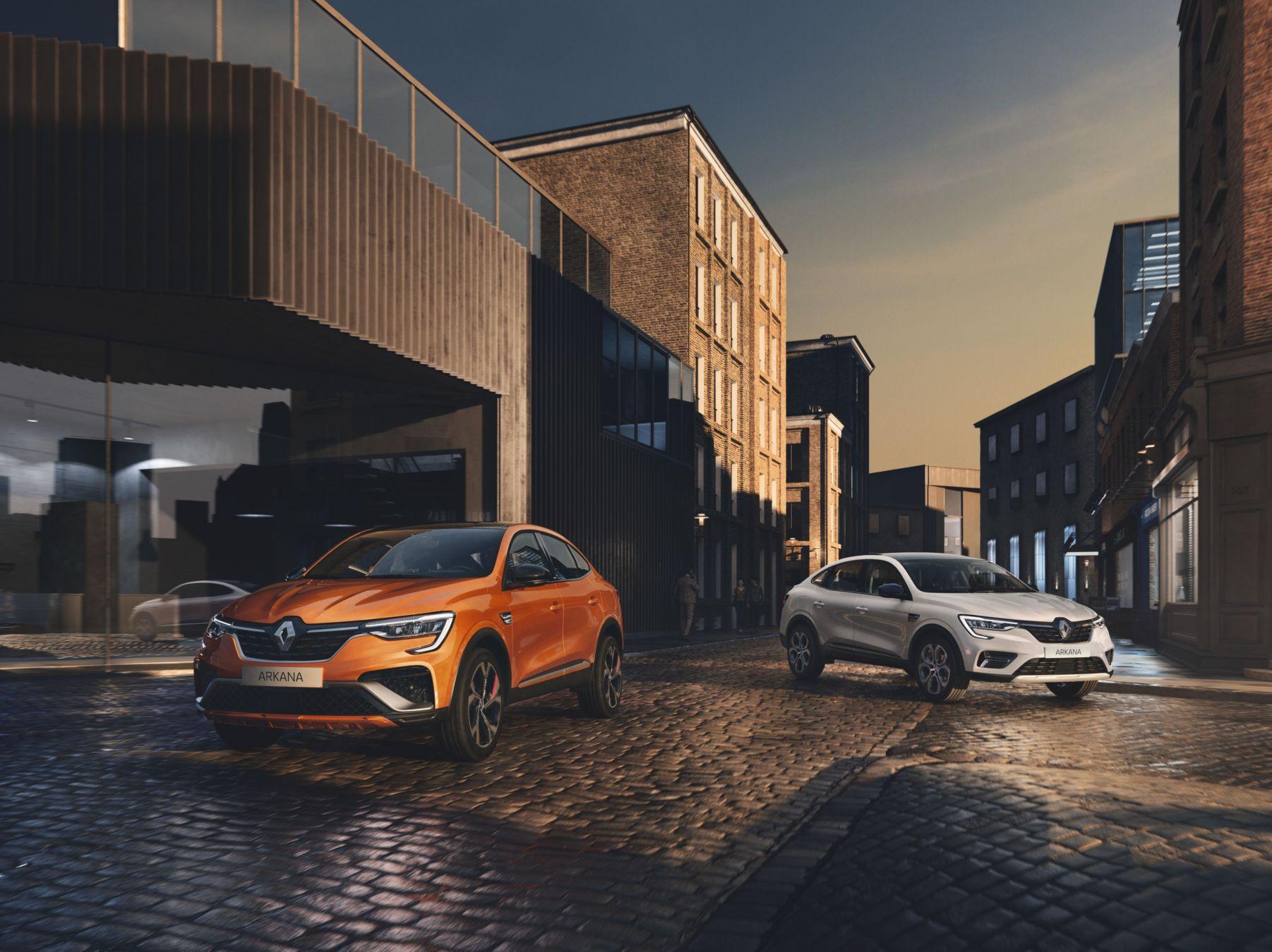 Photo de Renault lance l'Arkana hybride en Europe !