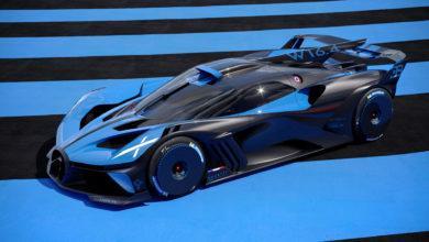 Photo de Le Bolide Bugatti : Un rapport poids/puissance de 0,67 kg / cv !