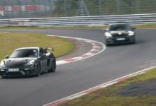 Photo de Porsche : Le 718 Cayman GT4 RS s'échauffe sur le Nürburgring (vidéo)