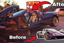 Photo de Un ado explose la Pagani Huayra Roadster de son père (vidéo)