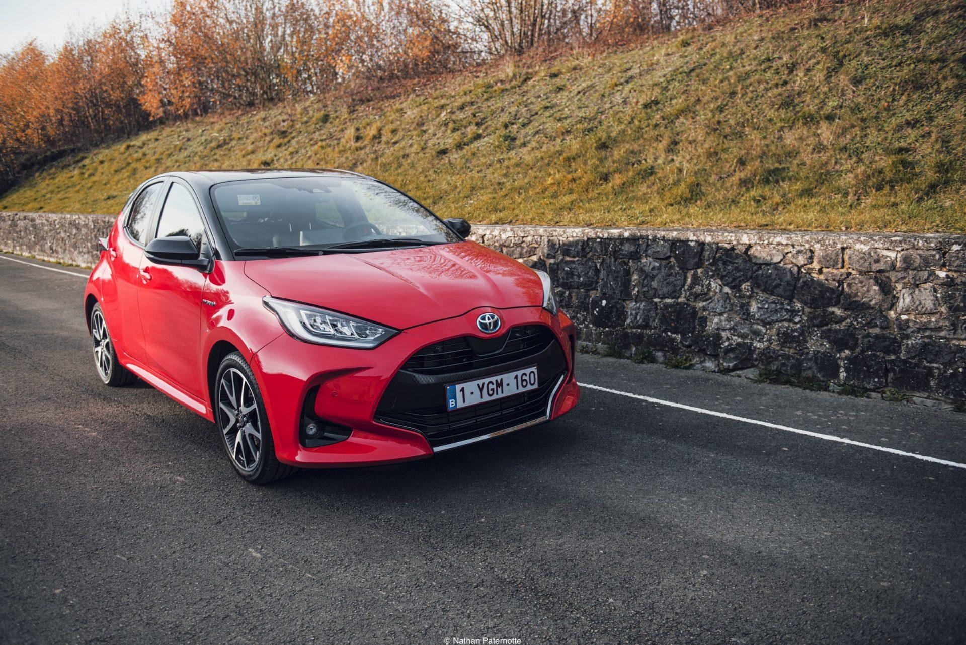 La Toyota Yaris sacrée voiture de l'année 2021