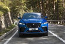 Photo de Jaguar F-Pace SVR : Quelques nouveautés pour 2021