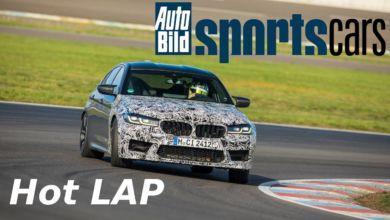 Photo de Vidéo : La BMW M5 CS plus rapide qu'une Porsche 911 GT3 sur le Lausitzring