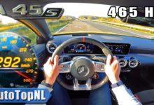 Photo de Vidéo : Embarquez à 292 km/h dans la Mercedes-AMG A 45 S
