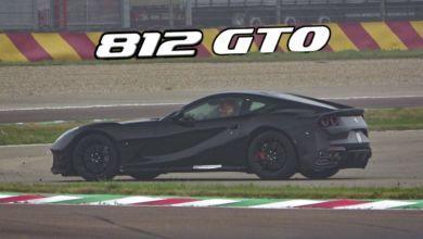 Photo de Vidéo : Ferrari travaille toujours sur une version plus épicée de la 812 Superfast !