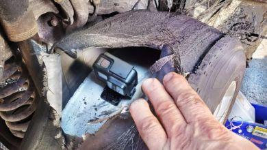 Photo de Vidéo : Une GoPro filme l'intérieur d'un pneu lors d'un burn